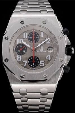 Swiss Audemars Piguet Royal Oak Offshore Grey Dial Stainless Steel Case And Bracelet 622870