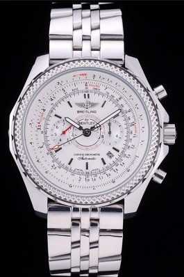 Breitling Top Replica 7809 Strap Stainless Steel Link Luxury Watch