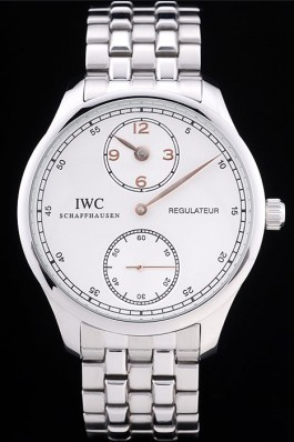 Iwc Top Replica 8258 Silver Stainless Steel Strap Schaffhausen 96