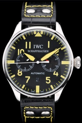 Iwc Schaffhausen Top Replica 9059 Leather Strap 109