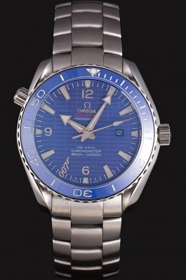 Omega James Bond Skyfall Watch with Blue Dial and Blue Bezel om230 621382