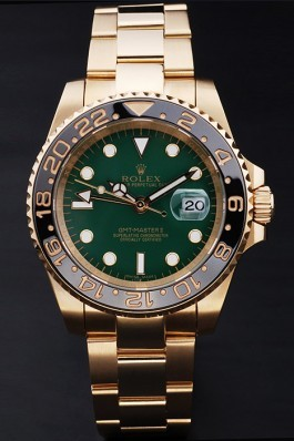 Rolex Top Replica 8865 Gold Stainless Steel Strap Master II Gold Luxury Watch 169