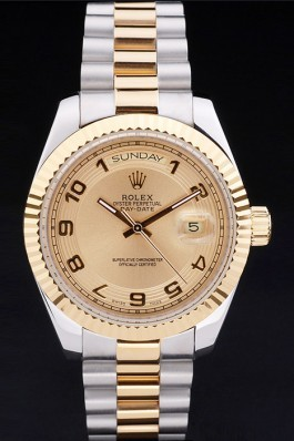 Rolex Top Replica 8793 Stainless Steel Strap Gold Luxury Watch 202