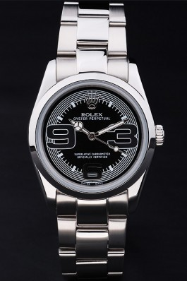 Silver Top Replica 8875 Stainless Steel Strap Perpetual Luxury Watch 190