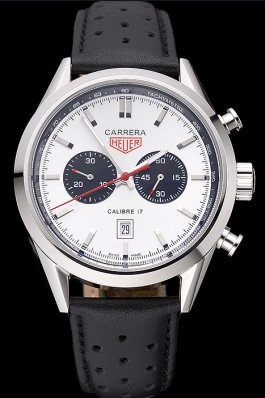 Tag Heuer Carrera Calibre 17 Black Dial 622067