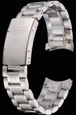 Omega Brushed Stainless Steel Link Bracelet 622484