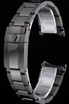 Rolex Ion Plated Stainless Steel Link Bracelet 622499