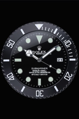 Rolex Submariner Wall Clock Black 622474