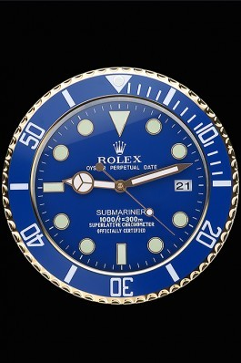 Rolex Submariner Wall Clock Blue 622475