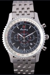 Breitling Top Replica 7893 Stainless Steel Strap Stainless Steel Link Luxury Watch