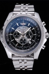 Breitling Bentley B05 Unitime Black Dial Stainless Steel Bracelet 622520