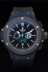 Hublot Top Replica 8188 Black Rubber Strap Bang Maradona Luxury Watch 22