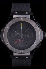 Hublot Top Replica 8232 Strap Edition Ayrton Senna Luxury Watch 84