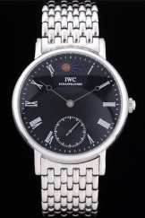 Iwc Top Replica 8250 Silver Stainless Steel Strap Schaffhausen 101