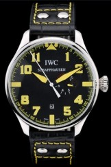 Iwc Schaffhausen Top Replica 9054 Leather Strap 104