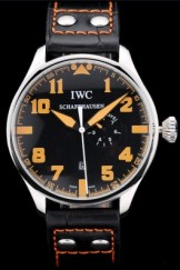 Iwc Schaffhausen Top Replica 9057 Leather Strap 107