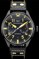 Iwc Schaffhausen Top Replica 9058 Leather Strap 108