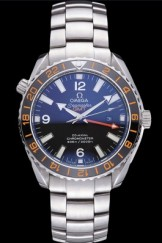 Swiss Omega Seamaster Stainless Steel Black Dial 622019
