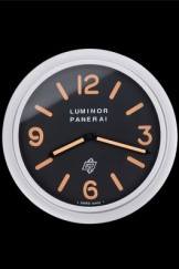 Panerai Luminor Marina Wall Clock Black-Orange 622472