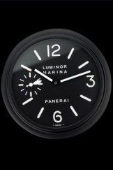Panerai Luminor Marina Wall Clock Black And White 622473