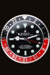 Rolex GMT Master II Wall Clock Black-Red 622478