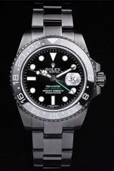 Rolex Top Replica 8899 Black Strap GMT Master II Pro-Hunter Luxury Watch