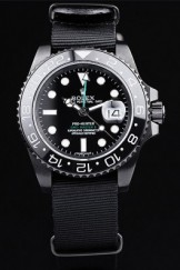 Rolex Top Replica 8900 Black Strap GMT Master II Pro-Hunter Black Luxury Watch