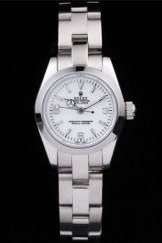 Rolex Top Replica 8856 Stainless Steel Strap Luxury White Watch