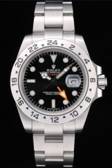 Rolex Explorer Top Replica 9163 Stainless Steel Bezel Black Dial Tachymeter