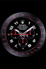 Rolex Daytona Cosmograph Wall Clock Black-Red 621908