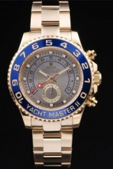 Rolex Top Replica 8923 Gold Stainless Steel Strap II Rose Gold Luxury Watch 244