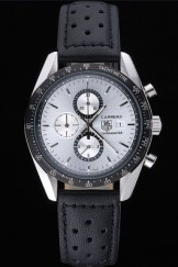 Tag Top Replica 7528 Leather Strap Heuer Carrera 89