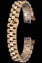 Rolex Polished and Brushed Gold Bracelet 622491