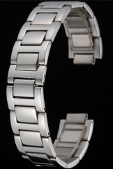 Cartier Brushed Stainless Steel Link Bracelet 622605